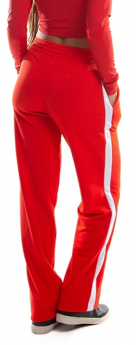 Pantalon Damă MISS LAZO IN RED 1