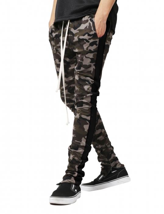 Pantaloni Bărbătești LAZO CAMOUFLAGE TRACK PANTS,Black 0