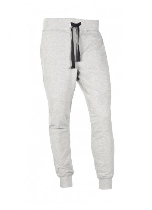 Pantaloni Bărbați LAZO BIKER STYLE FIT Gri