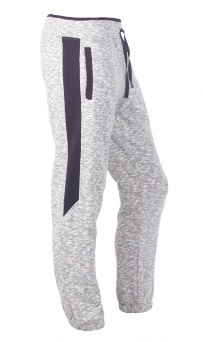 Pantaloni Bărbătești LAZO SMART FIT Gri cu Bleumarin